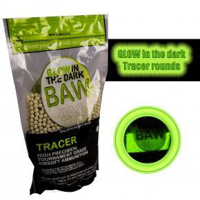 BAW Bag 0.25g Precision Tracer BB's (4000) 1Kg