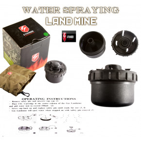 S-Thunder Water-Spraying Mine - Black