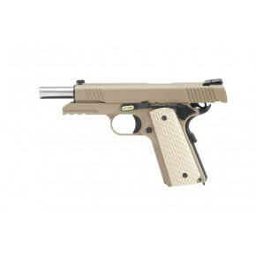 WE Kimber / K-Warrior 1911 Airsoft Pistol - Desert