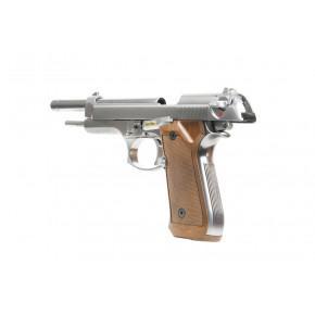 WE M92-L Chrome Airsoft Pistol