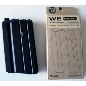 WE M4/M16/SCAR/PDW/L85 Open Bolt GBB (Gas Blowback) 20rd spare magazine