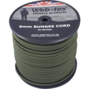 Web-tex 6mm Bungee Cord (per metre)
