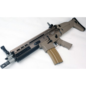 WE SCAR-L Open Bolt GBB (Gas Blowback) - TAN