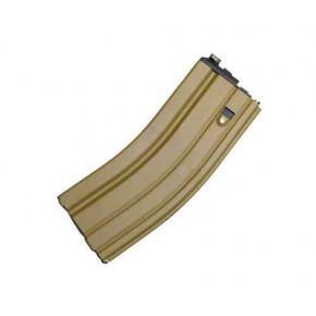 WE SCAR/M4/M16 Open Bolt GBB Magazine (Gas Blowback) - Tan