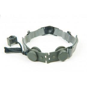 Z Tactical Bowman Tactical throat mike adaptor - Foliage Green