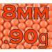 8mm Precision BBs 0.90g (1000)
