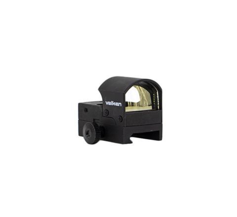 Valken Mini Hooded Reflex Red Dot Sight with QD Mount