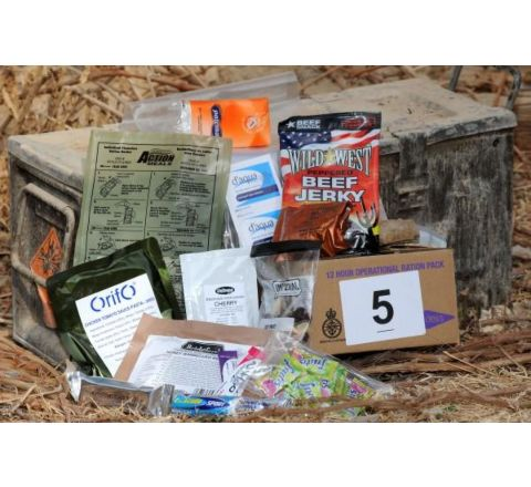 British Army 12 hour Ration Pack