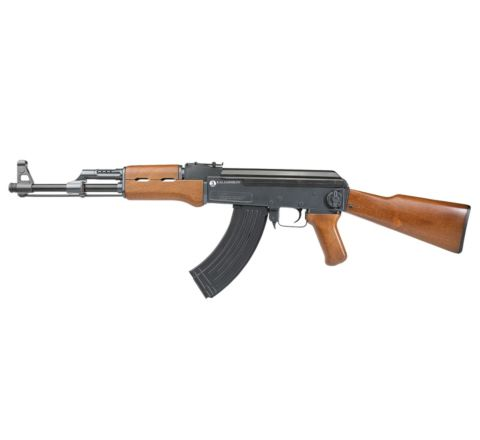 MEGA-DEAL Bundle - JG 'Kalashnikov' AK47 style Russian AEG Airsoft Rifle - Faux Wood