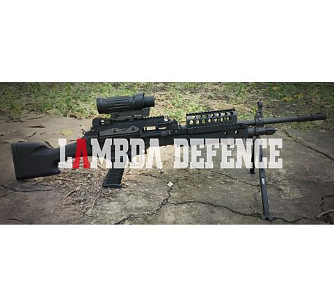 Lambda Defense MK.48 LMG 7.62 NATO AIRSOFT AEG MOD.0 FULL STOCK