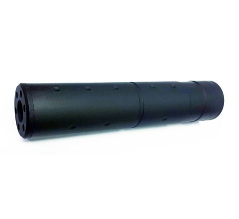 14mm CCW Pistol Suppressor - 155mm Smooth and Dotted