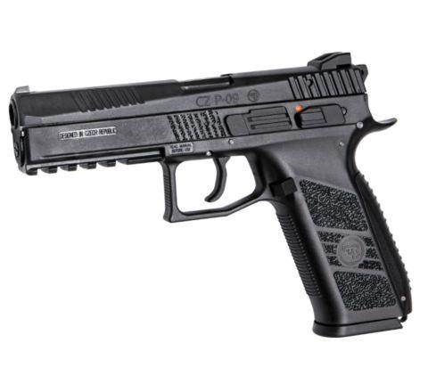 ASG Branded KJ Works CZ P-09 GBB Pistol - Black