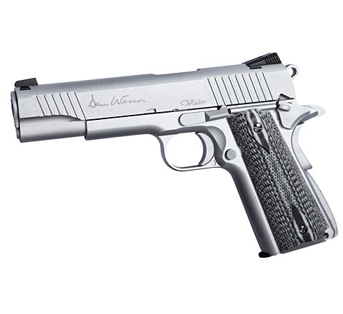 ASG Dan Wesson 1911 Valor airsoft pistol GBB - Stainless