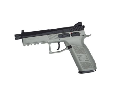 ASG Branded KJ Works CZ P-09 GBB Pistol - Urban Grey