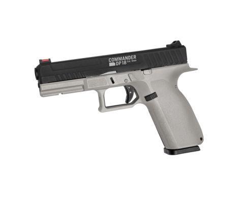 ASG Branded Commander DP18 Airsoft Pistol - Urban Grey
