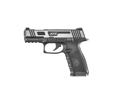 ICS XFG Gas Blowback Airsoft Pistol - Silver