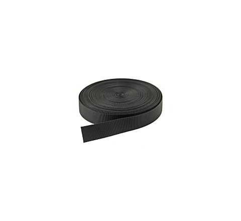 40mm Webbing - Black (per metre)
