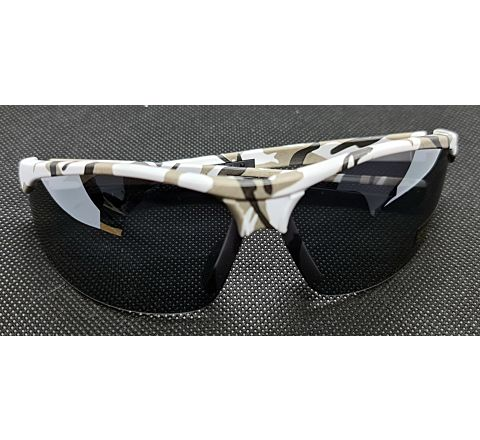 CoverT Pro 724 Ballistic Glasses - Standard Set - Snow Camo