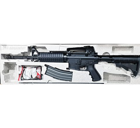 Rebuilt G&G Custom Bodied GC-16 Carbine Airsoft Rifle