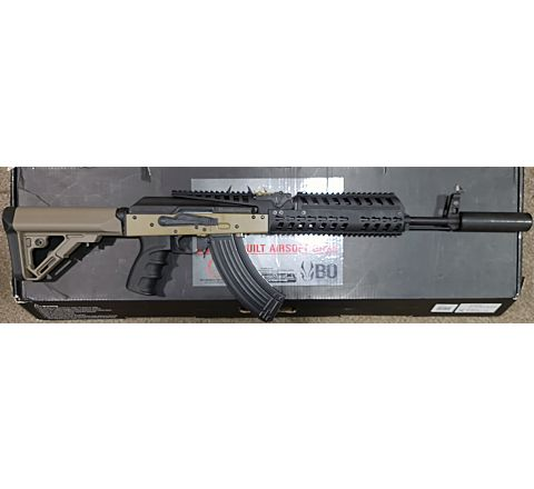 Rebuilt VFC BO Dynamics BO AK Patriot Blow-Back Airsoft Rifle - Tan (FDE)