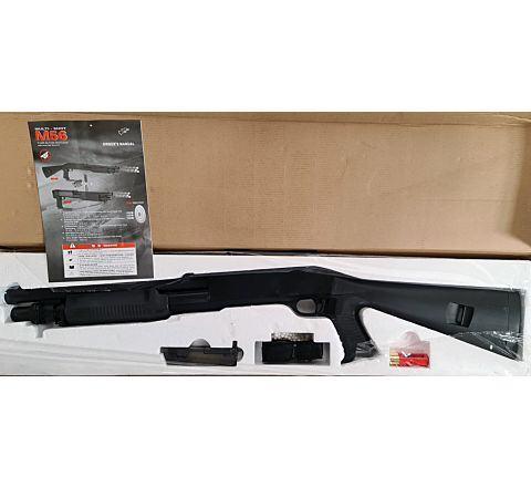 Double Eagle M56 STYLE FULL STOCK AIRSOFT SHOTGUN - Boneyard