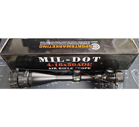 SMK 4-16x50AOE Airsoft / Air Rifle Scope
