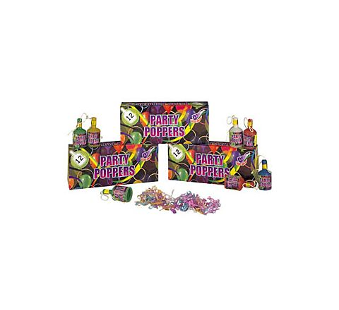 Party Poppers (12x Box)