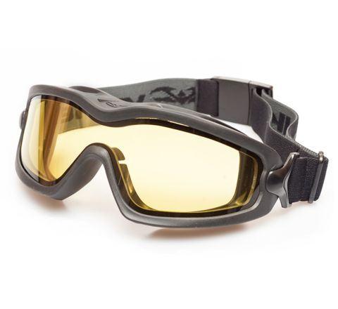 Valken V-Tac Sierra Goggles - Black / Yellow