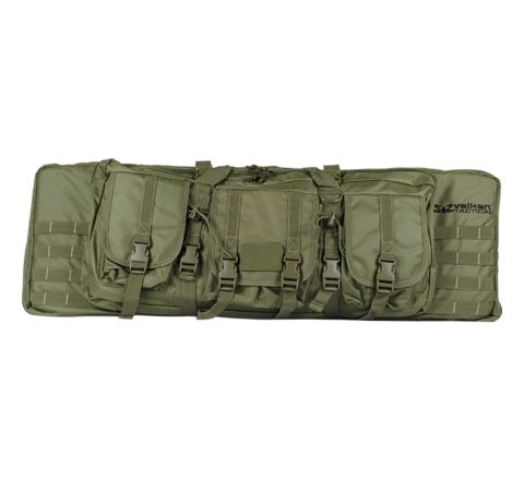 "Valken V Tactical 42"" Double Rifle Gun Case / Gun Bag - Olive"
