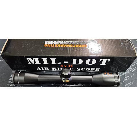 SMK 4x32 Airsoft / Air Rifle Scope