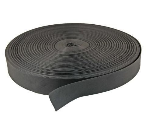 50mm Nylon webbing Black - 1 metre