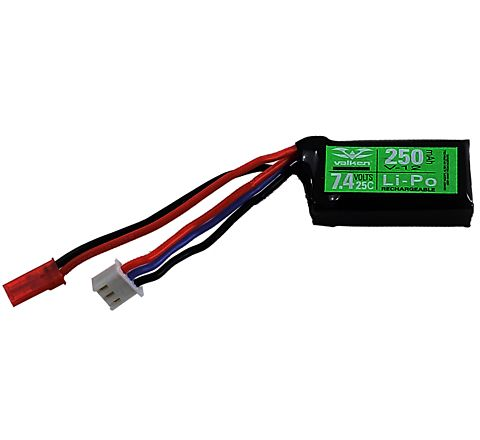 VALKEN HPA (High Pressure Air) ULTRA Series 7.4v 250mAh 25C PEQ LiPo Battery