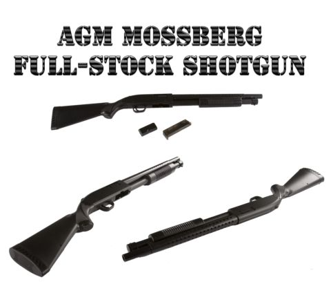 AGM Mossberg 500 Full-Stock Airsoft Shotgun