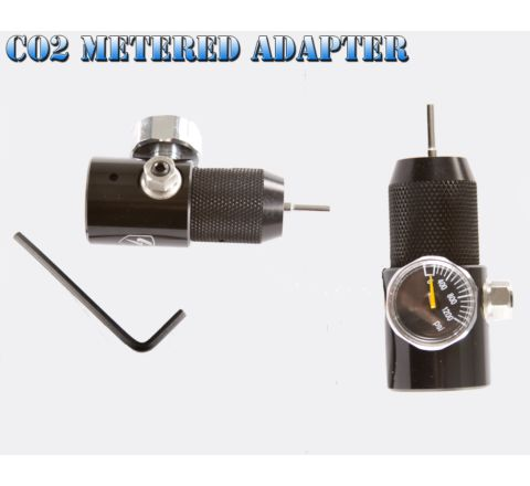 S-Thunder Co2 Adapter - with meter