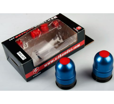 S-Thunder Airsoft Grenade Dual-Pack Blue