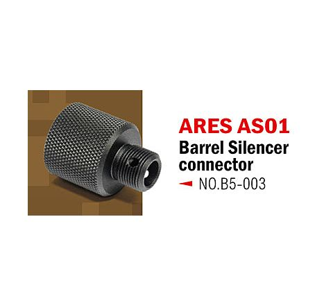Action Army Silencer / Suppressor Adaptor for ARES AS01 Series Rifles