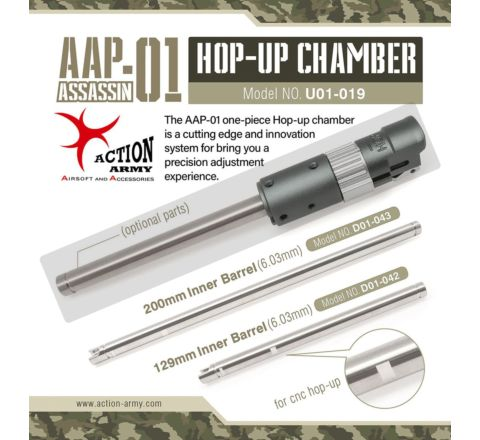 Action Army AAP-01 CNC Upgrade Hop Unit - Wheel Adjustable