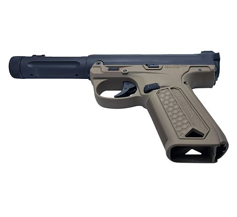 Action Army AAP-01 Assassin GBB Airsoft Pistol - Black / Tan