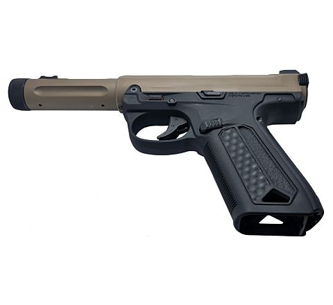 Action Army AAP-01 Assassin GBB Airsoft Pistol - Tan / Black
