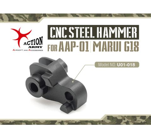 Action Army AAP-01 & Tokyo Marui Glk 18 CNC Steel Hammer Upgrade