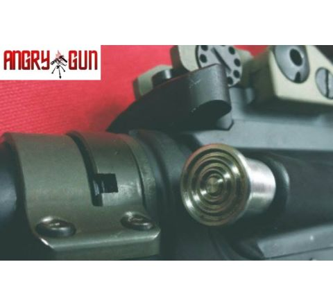 Angry Gun CNC Steel Forward Assist for the WE M4 GBB Rifle