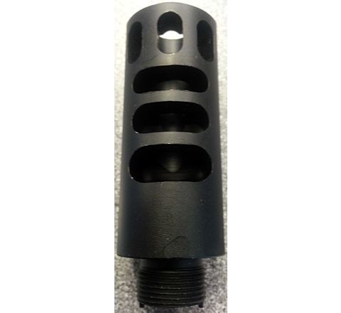 Aluminium Muzzle style flash hider with 14mm External Thread