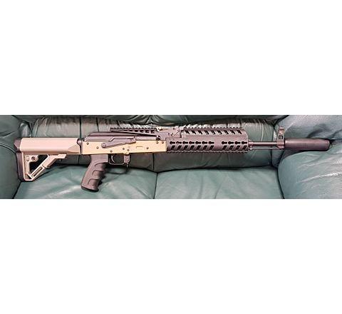 VFC BO Dynamics BO AK Patriot Blow-Back Airsoft Rifle - Tan (FDE)