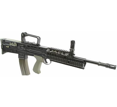 Army Armament L85A2 (ish) Electric Blowback Airsoft Rifle with DD Style Rail