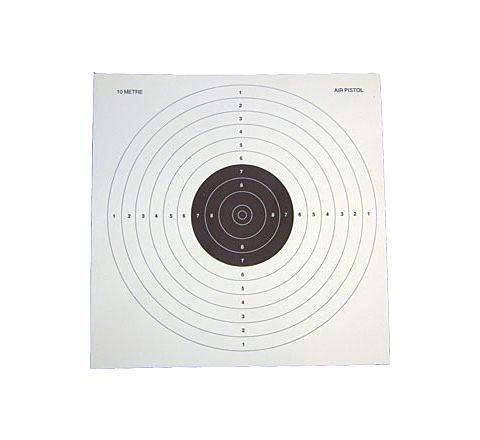 10 Metre Pistol Target (Pack of 25)