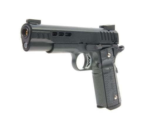 Ascend Airsoft KP1911 CUSTOM GBB Airsoft Pistol - Black