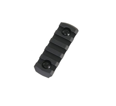 Alloy M-LOK 5 Slot Rail Section - Black