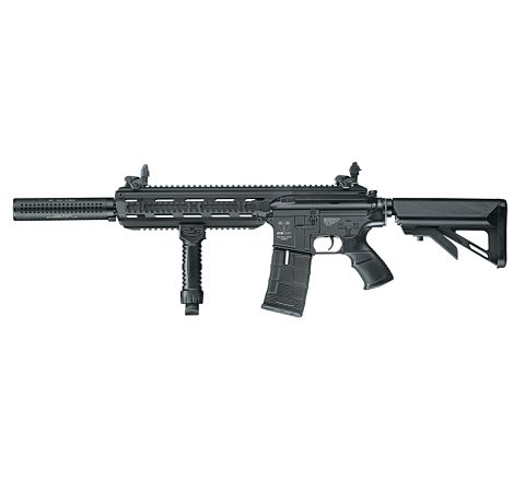 ICS CXP16 Long Airsoft Rifle - Black
