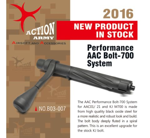 Action Army Performance AAC Bolt-700 System ( Fits AAC01 / AAC21 / KJ M700 )