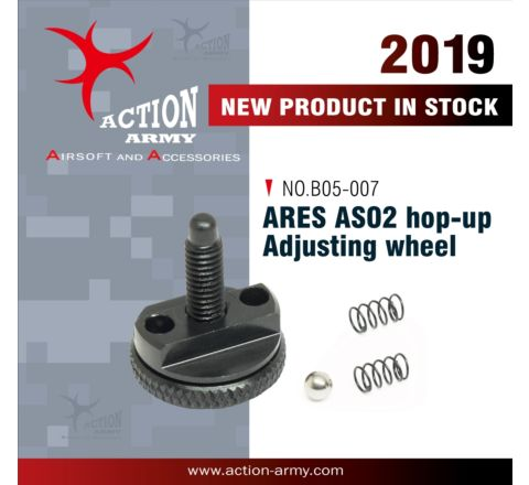 Action Army ARES Striker AS02 Rifle Hop-up Adjustment Wheel - CNC Aluminium